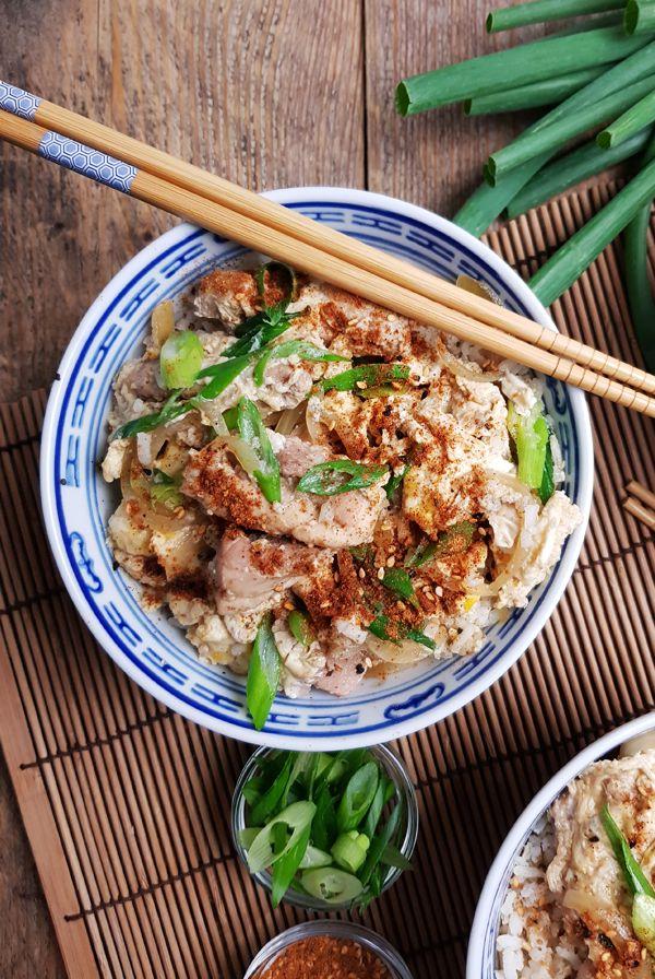 Japanse Oyakodon recept (Kip met ei en rijst) | Gewoon een foodblog!