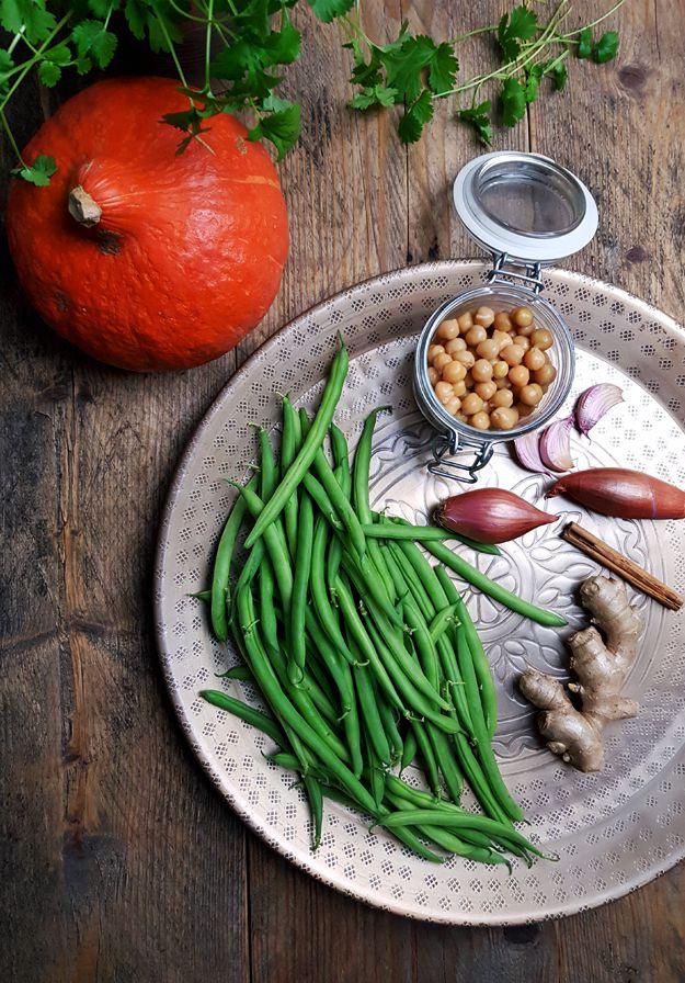 Ingrediënten Indiase curry met pompoen - Gewooneenfoodblog.nl